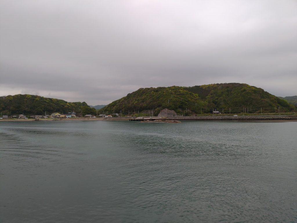 南紀シーマンズクラブ裏 対岸のミニ堤防