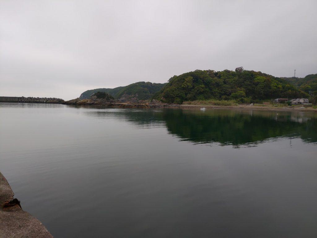 有田漁港エギング 雰囲気の良い堤防