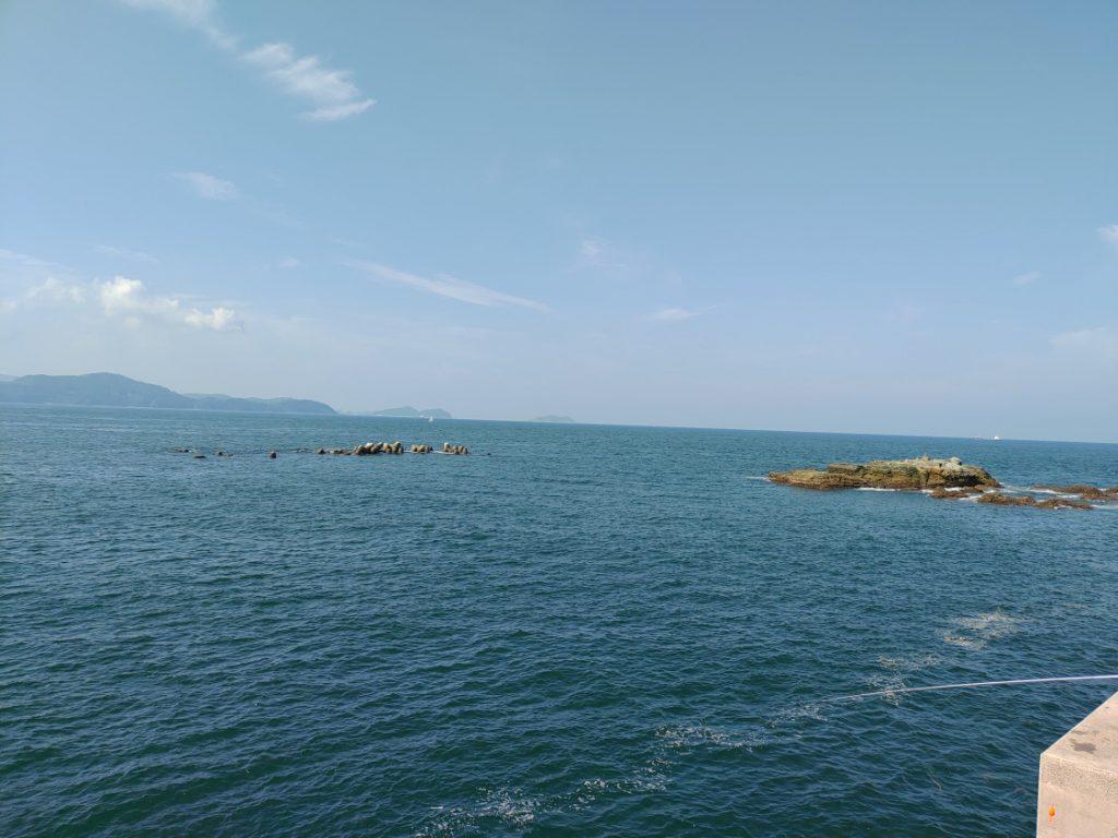 田ノ浦漁港 沖側堤防