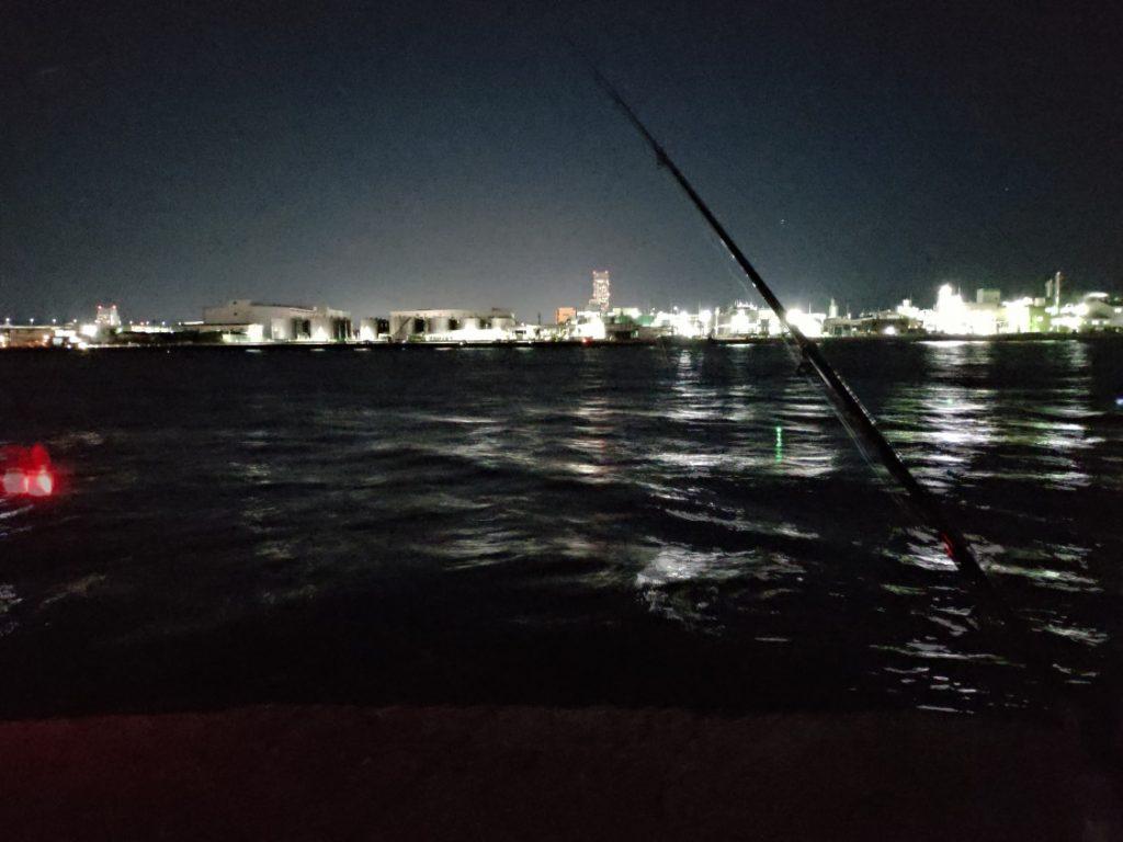 2019-09-19 食コン タチウオエサ釣り